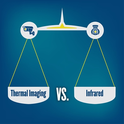 Thermal vs IR